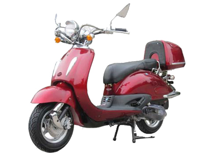 150 cc retro style scooter
